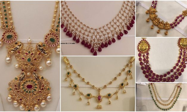 Irresistible gold layered necklace designs