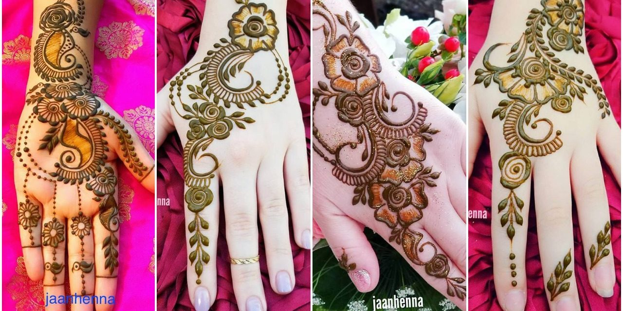 Simple and beautiful mehndi designs for hands
