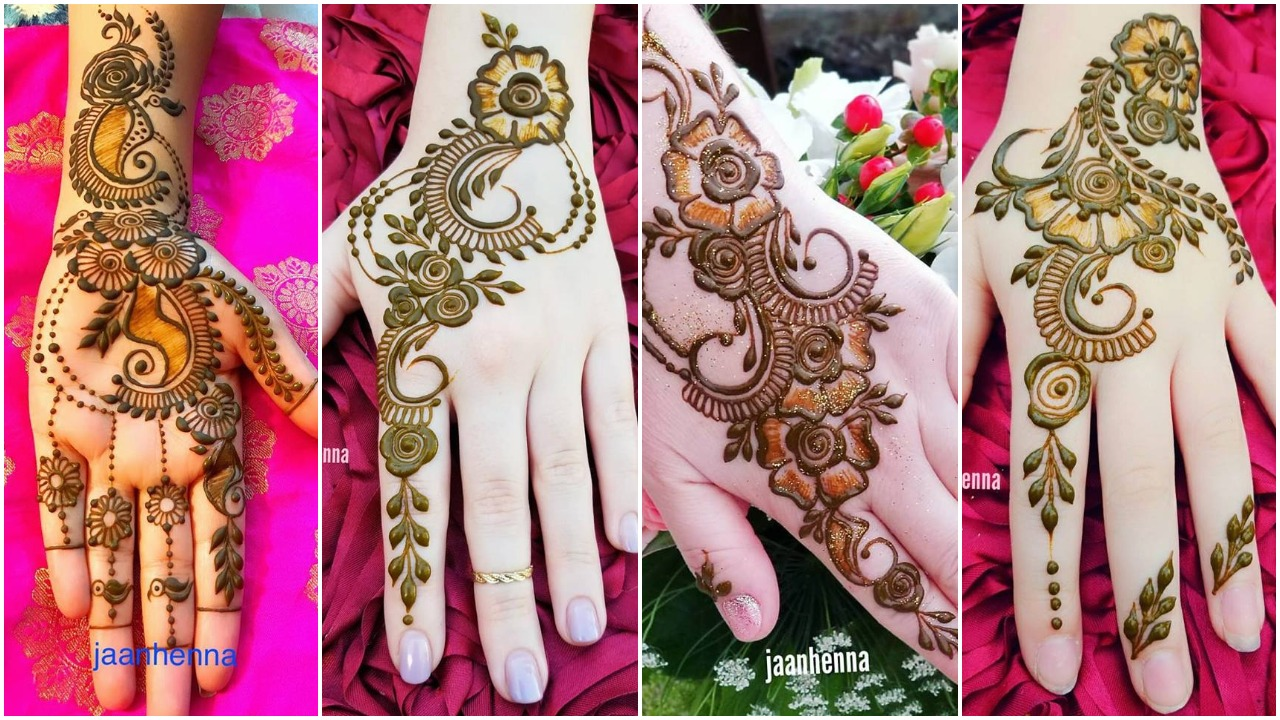 mehndi designs for hands