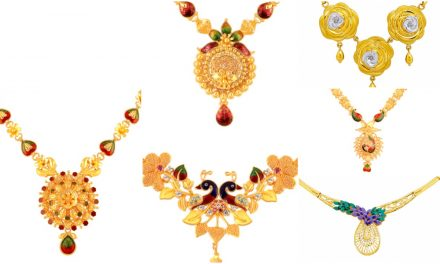 16 Gram gold necklace collections