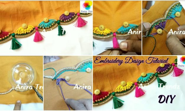 Embroidery design tutorials silkthread kuchu