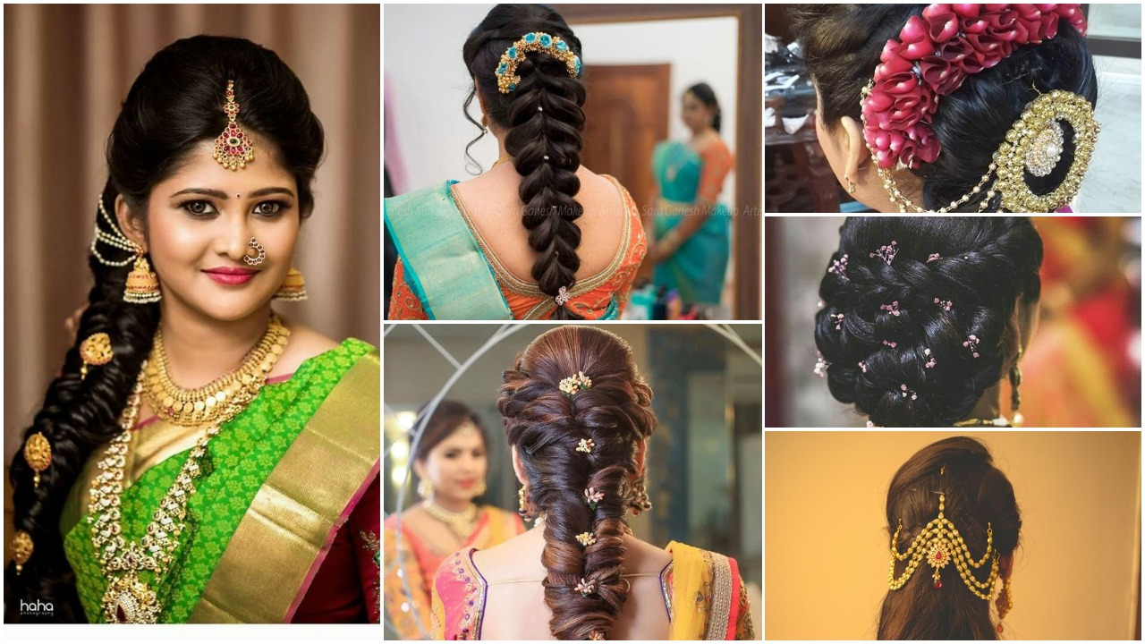 Indian bridal wedding hairstyles trends