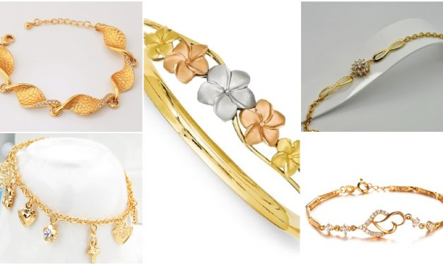 Luxurious brand of gold bracelets for women