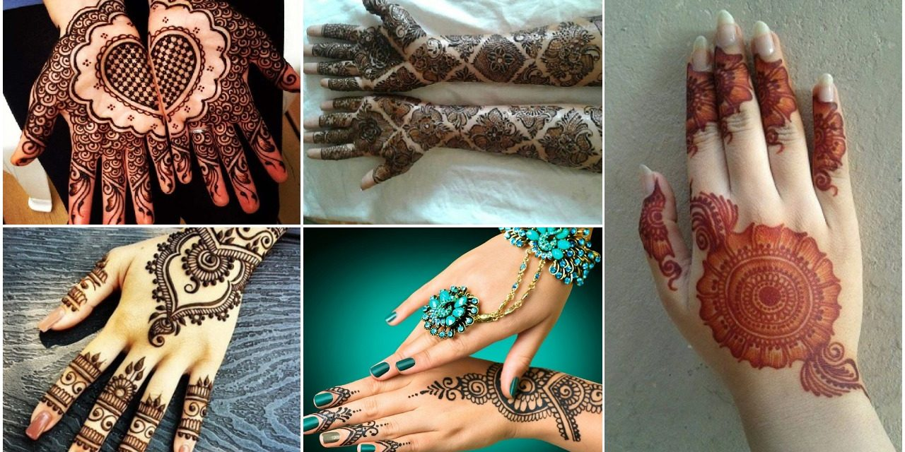 Latest khafif mehndi designs and its specialities