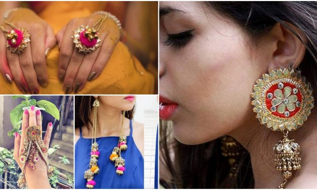 The prettiest mehndi jewellery for indian weddings