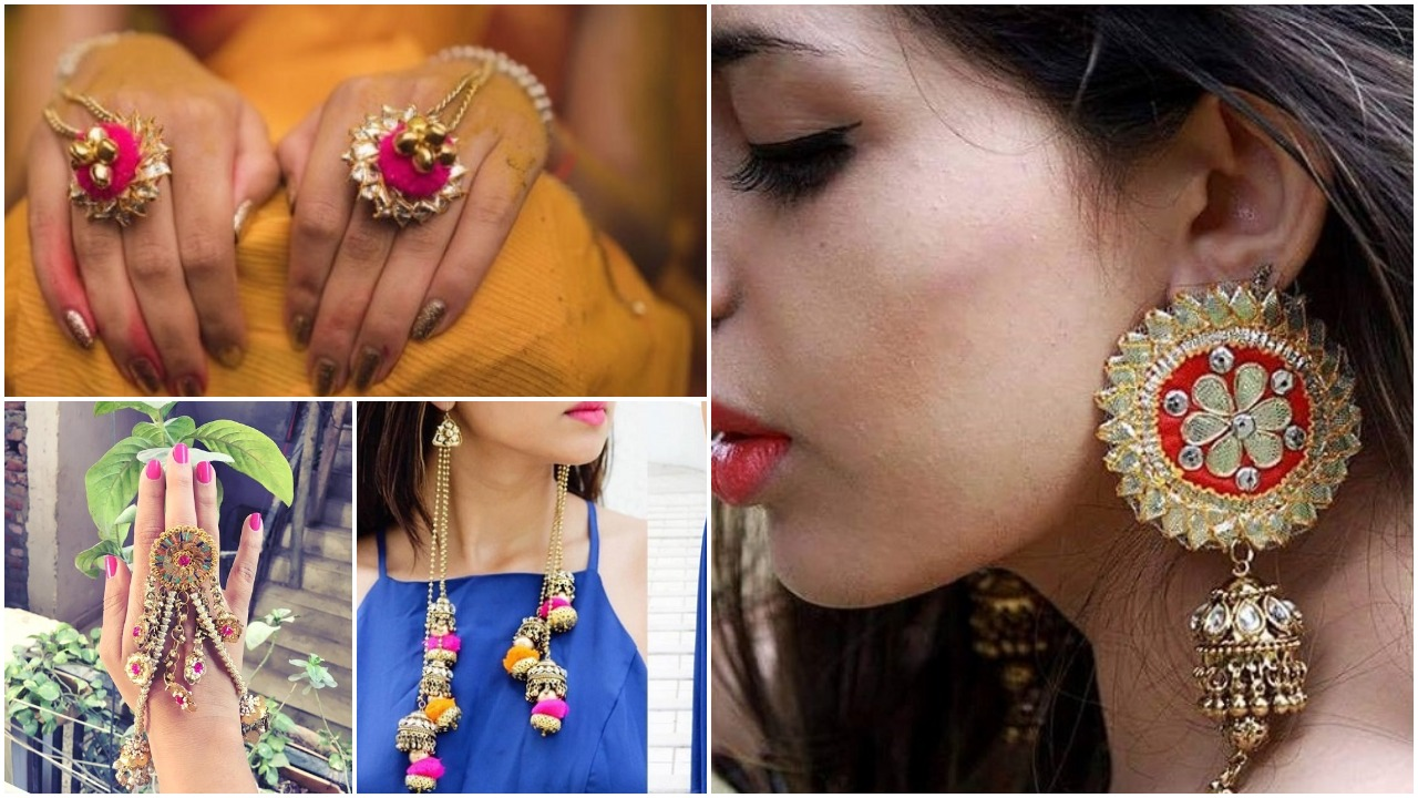 The prettiest mehndi jewellery