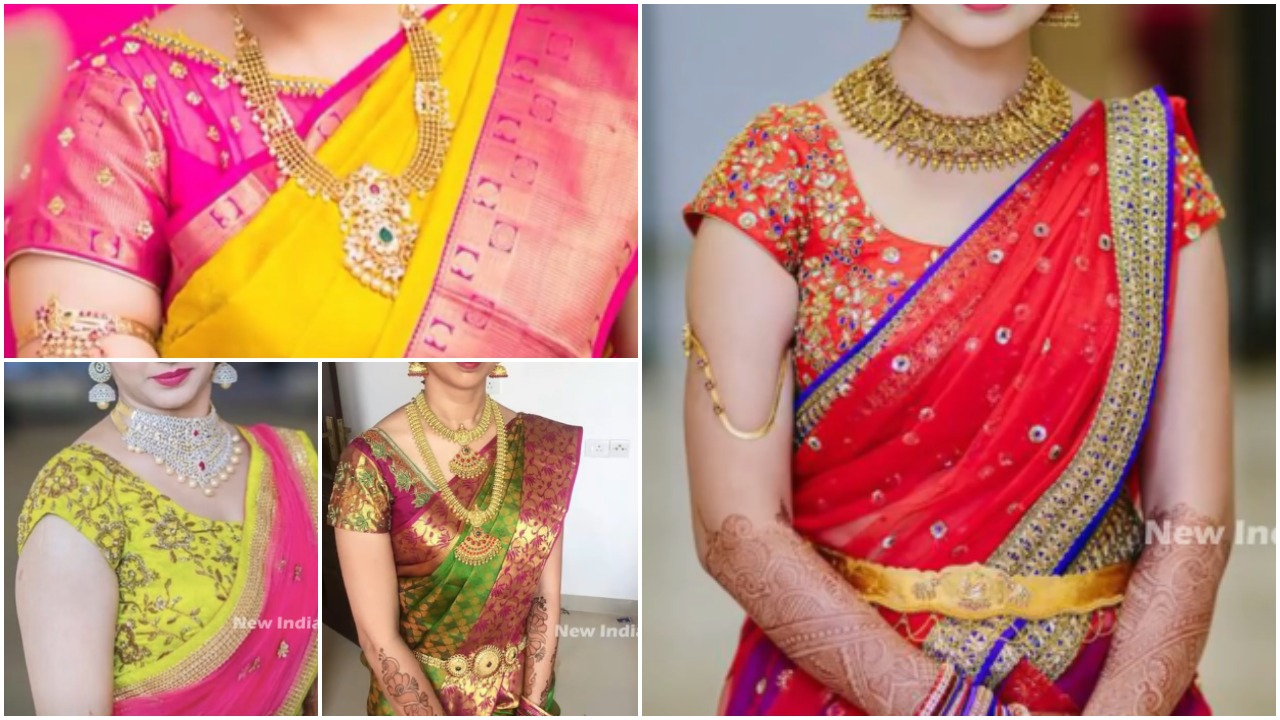 Gorgeous south indian bridal blouse