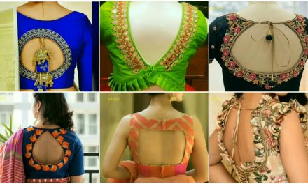 Latest designer blouse designs