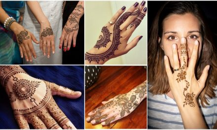Simple back hand mehndi designs