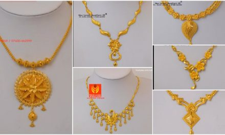 Light weight gold necklace for women under 10 grams