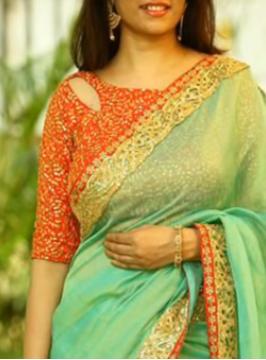 Saree Neck Blouse