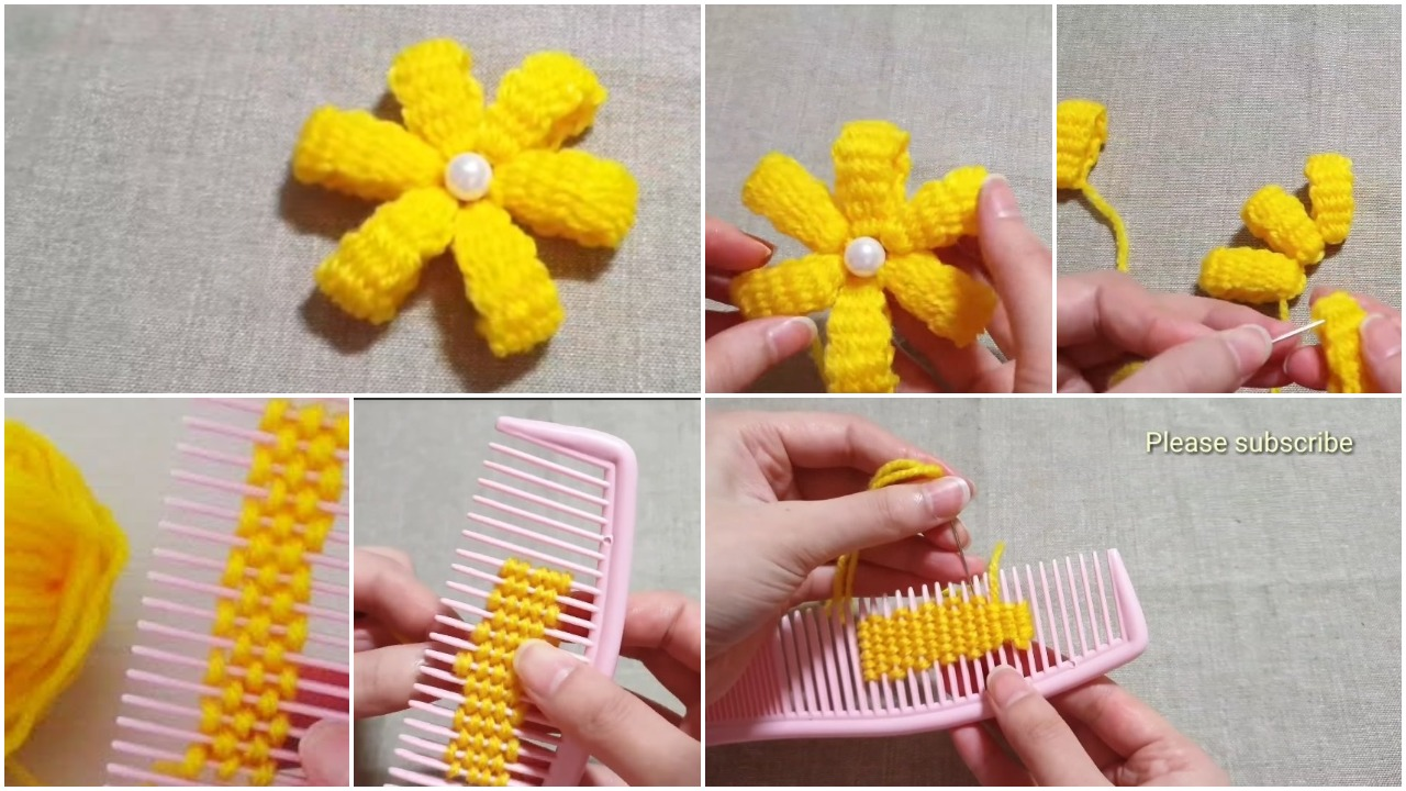 Amazing flower crafts