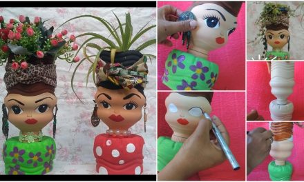 How to make a doll by waste products