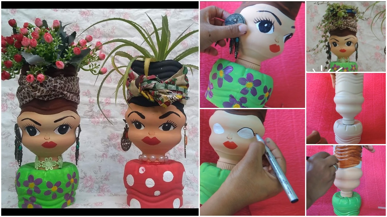 doll by waste products
