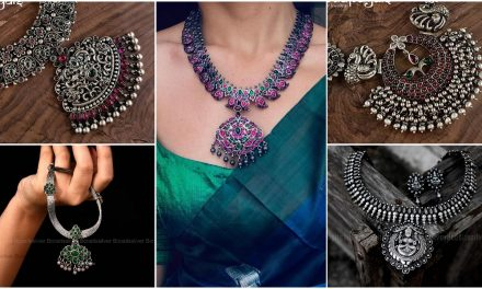 Mindblowing pure silver necklace designs