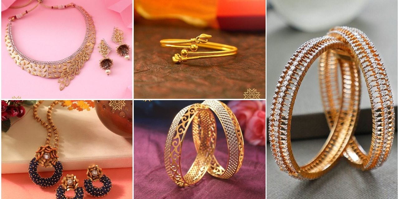 Witness exceptional gold designer jewelry from this brand