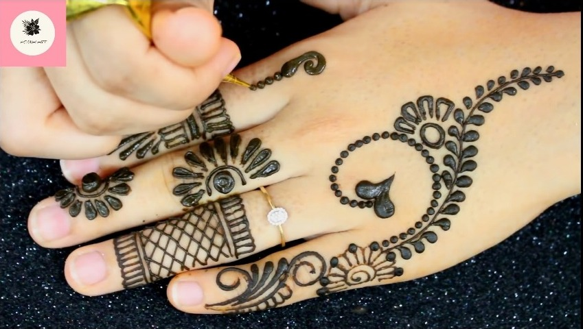 Mehndi Design Back Hand