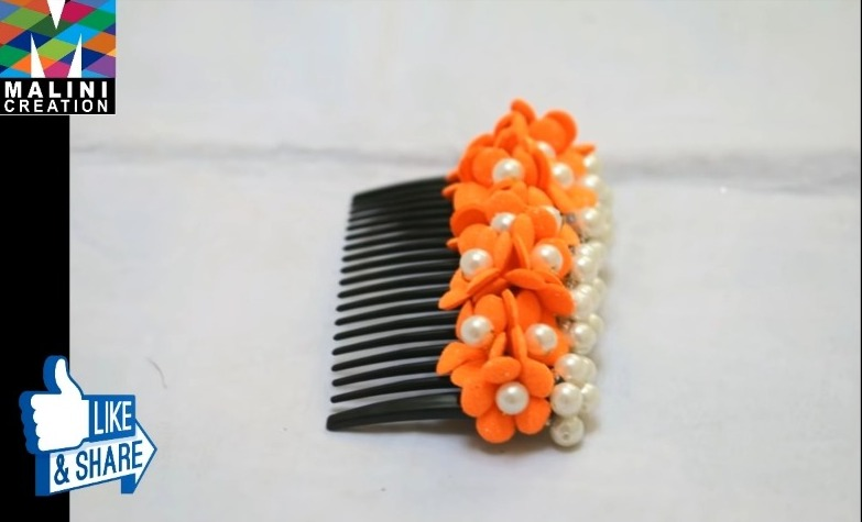 beautiful hair pin