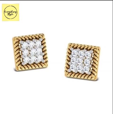 Gold Stud & Earrings Designs