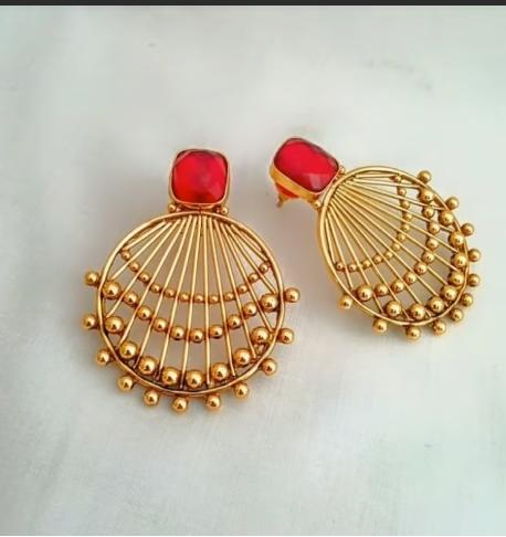 Gold Ear Ring Design