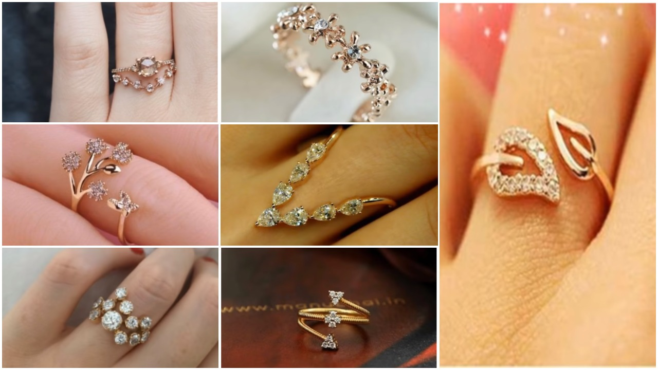 stylish gold ring designs