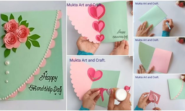 How to make friendship day special pop up card