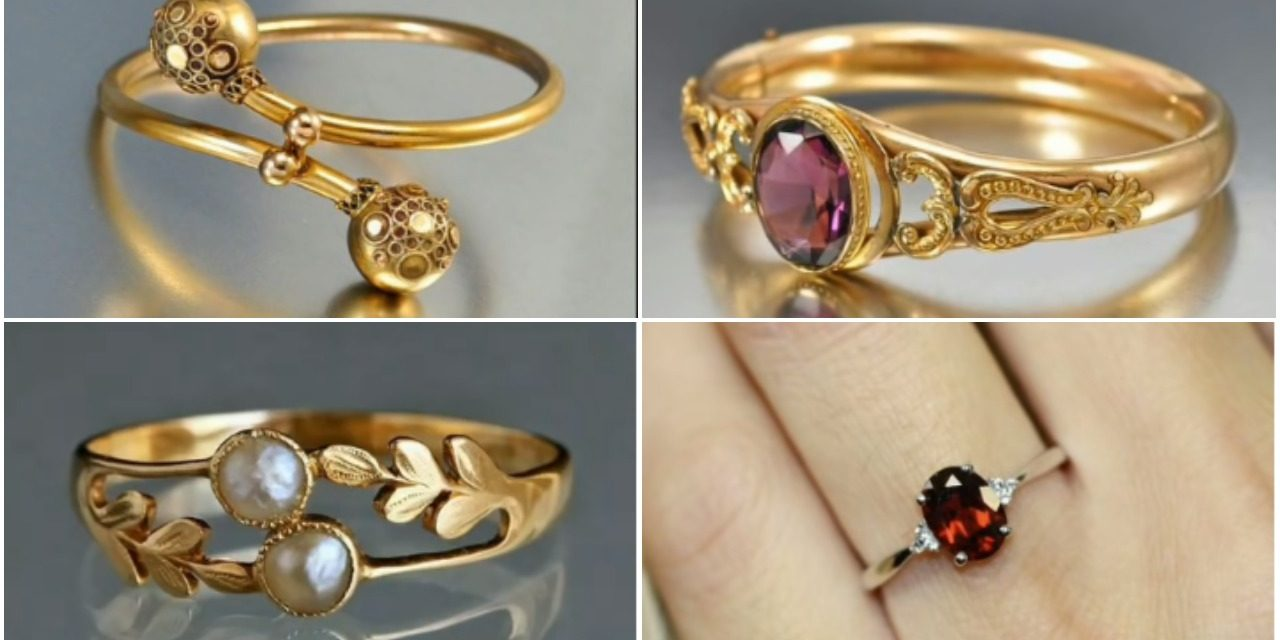 New light weight gold rings