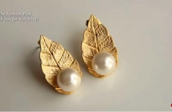 Gold Ear-Studs