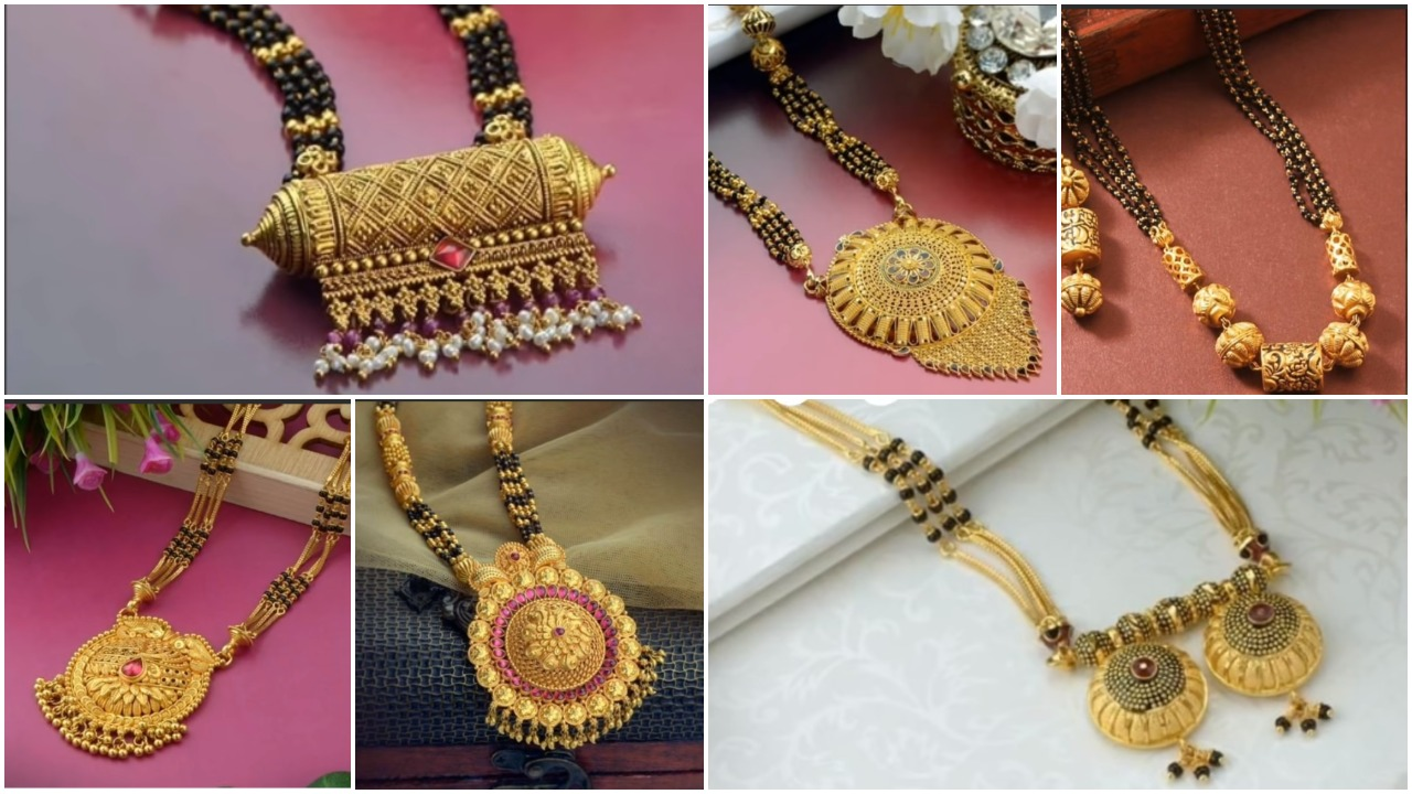 Latest Long Gold Mangalsutra Designs Simple Craft Ideas