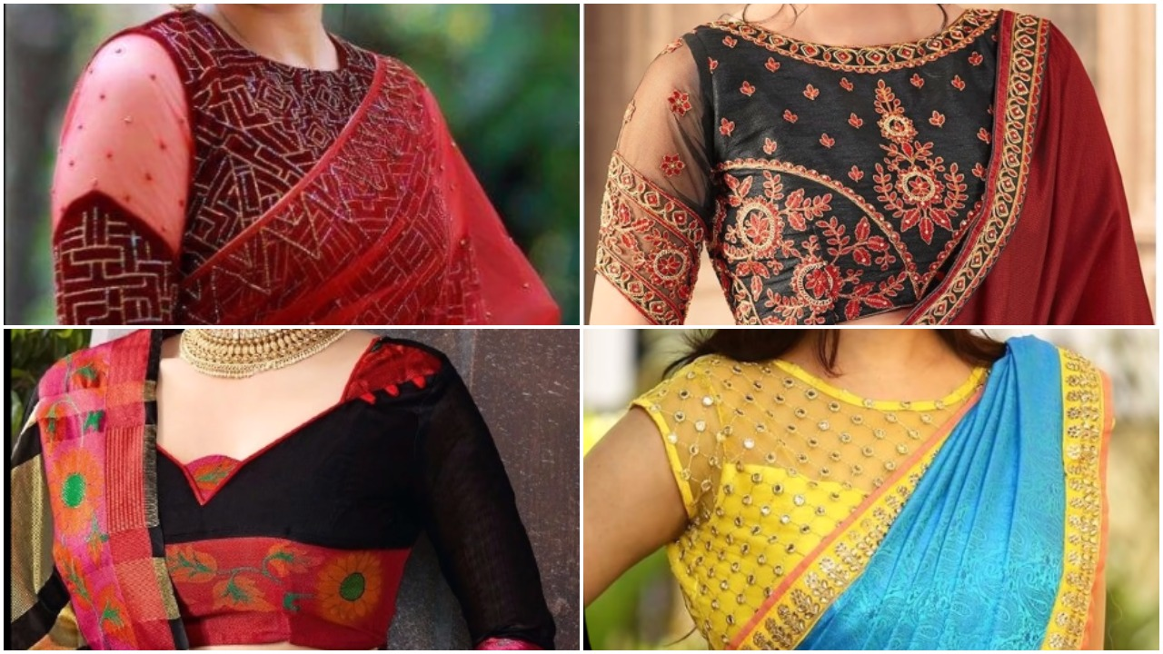 Party wear blouse designs