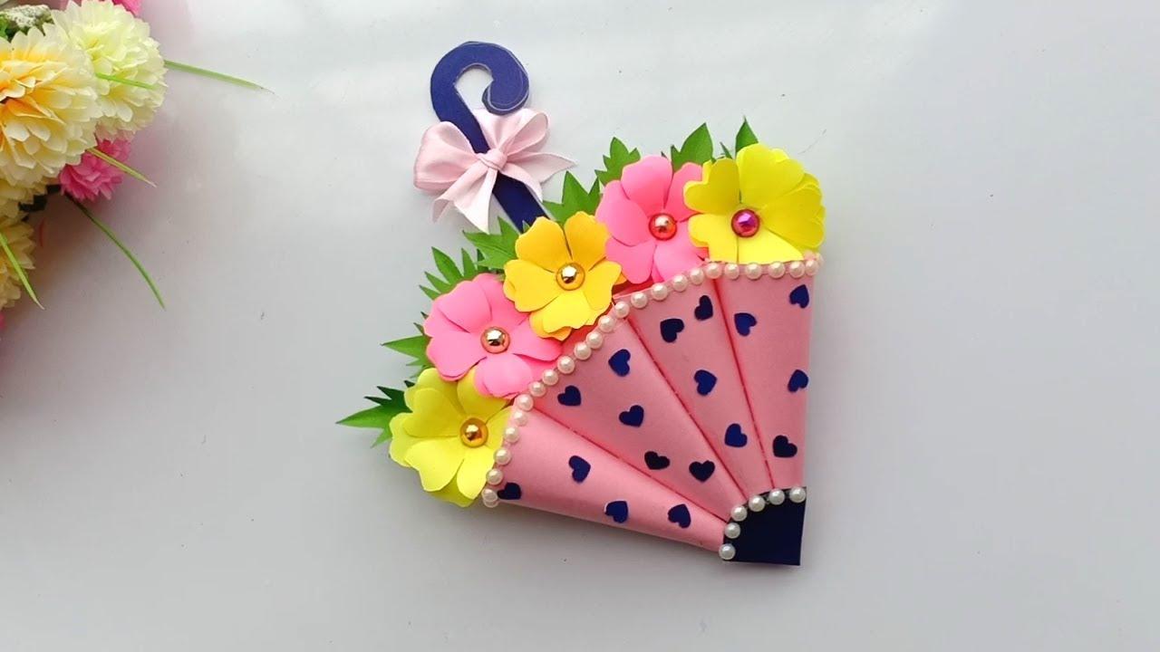 beautiful handmade birthday card  simple craft ideas