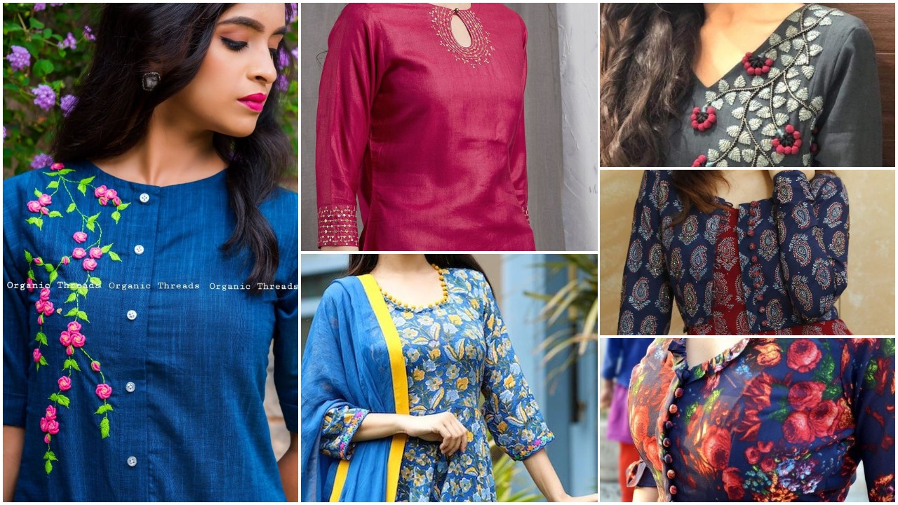 Kurta designs new fashion for women