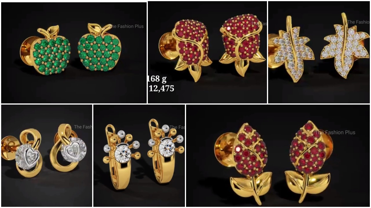 ear stud designs