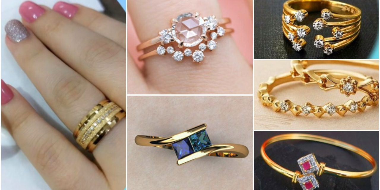 Latest elegant ring design collection for women's