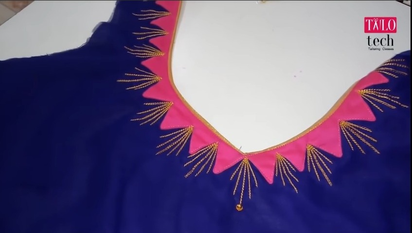Embroidery Blouse Design