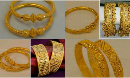 Latest gold bangles design