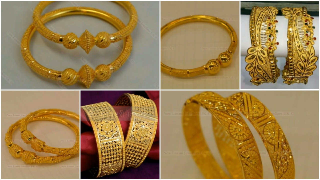 Latest gold bangles design