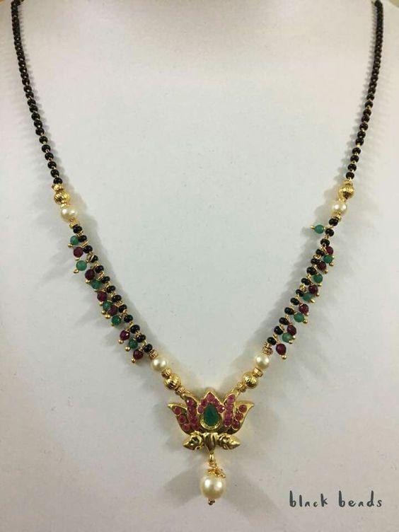 Black Beads Chain