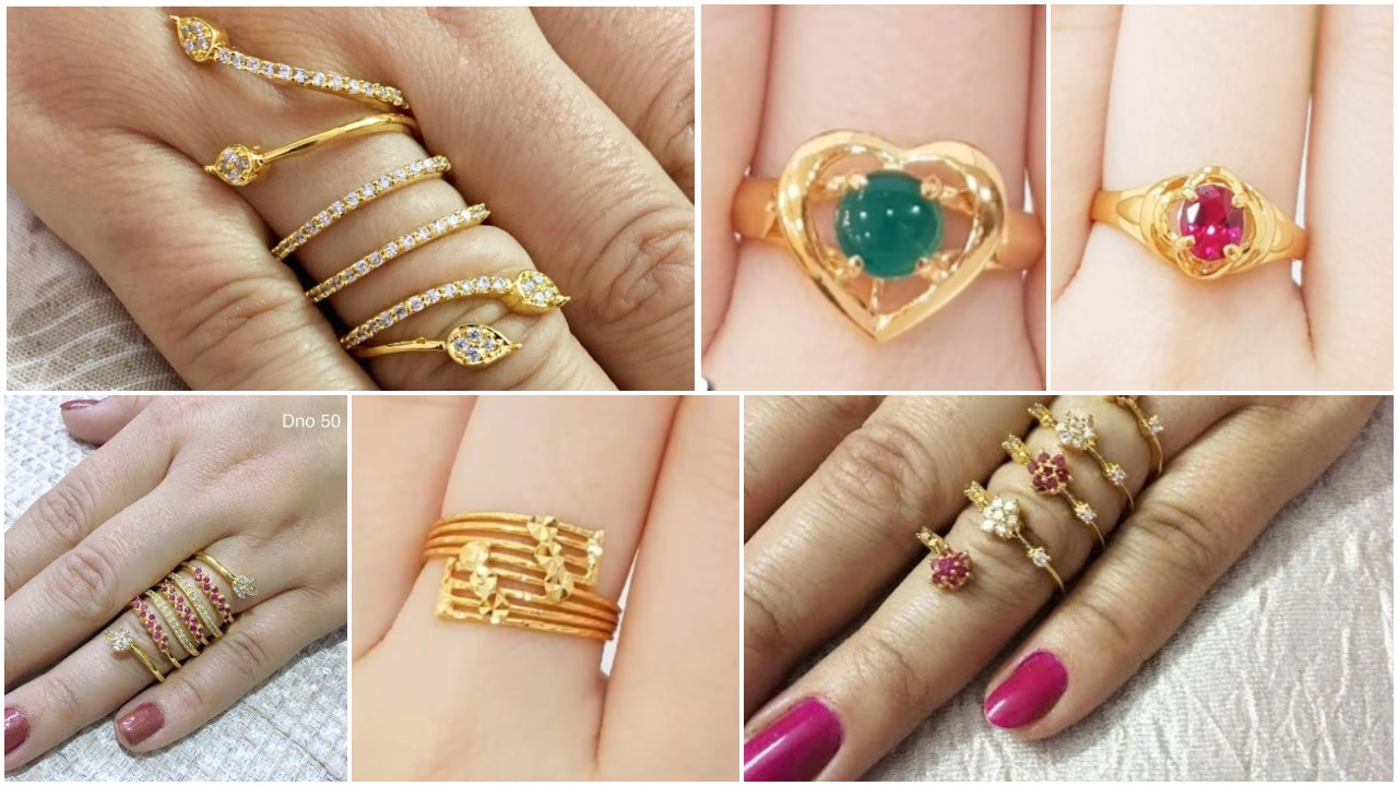 Latest designer finger rings