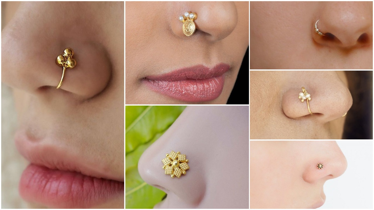 Gold Nose Ring Designs Simple Craft Ideas