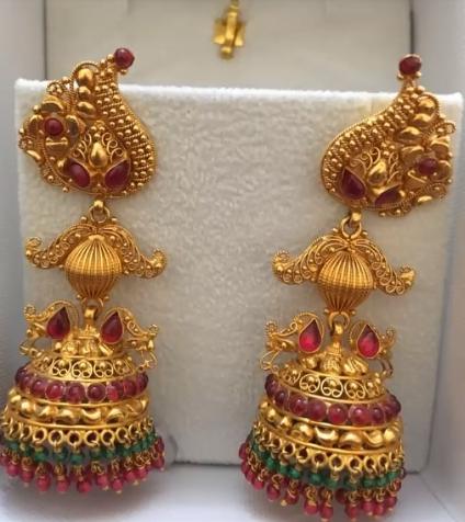 Gold Earrings Designs