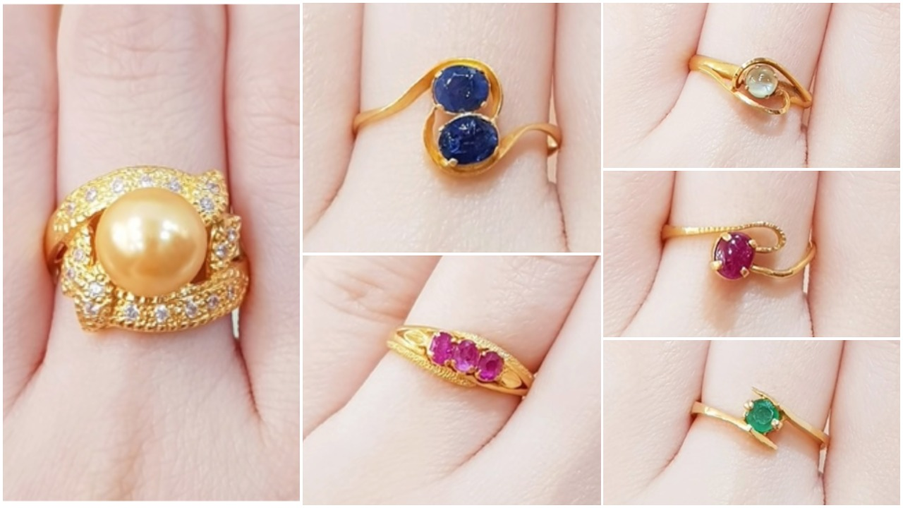 Latest gold ring designs