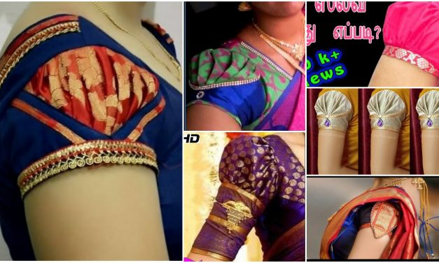 Designer sleeves made in simple and easy method