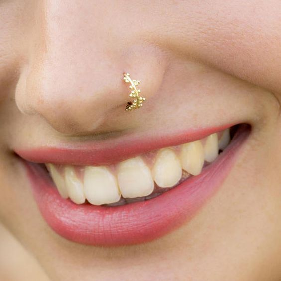 Gold Nose Ring
