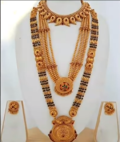 Gold Long Mangalsutra Designs Simple Craft Ideas