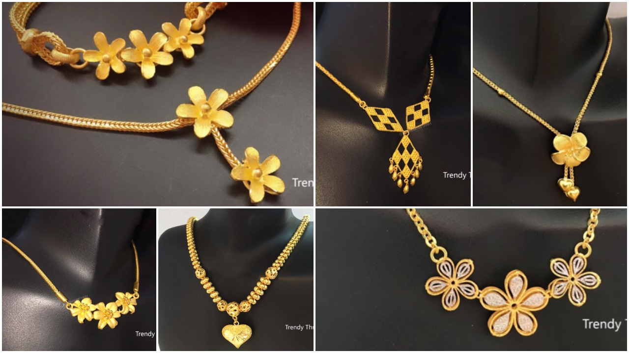 light weight gold chain designs