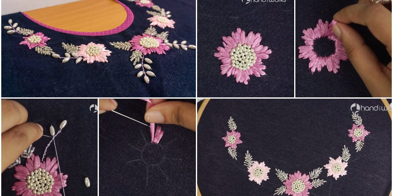 Best stitching ideas for dress neck
