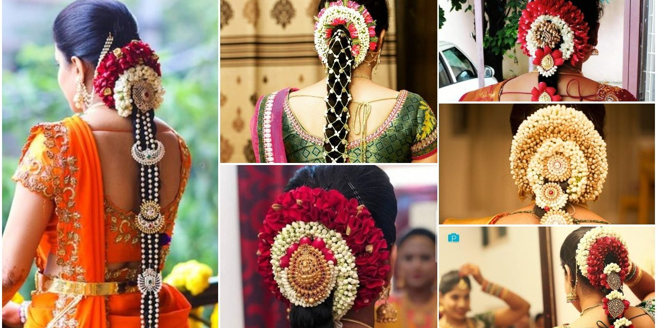 Poola jada designs-A must see for every south Indian bride