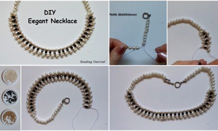 How to make a beaded necklace
