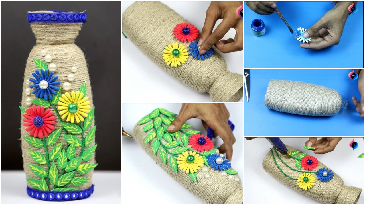Shampoo bottle craft ideas